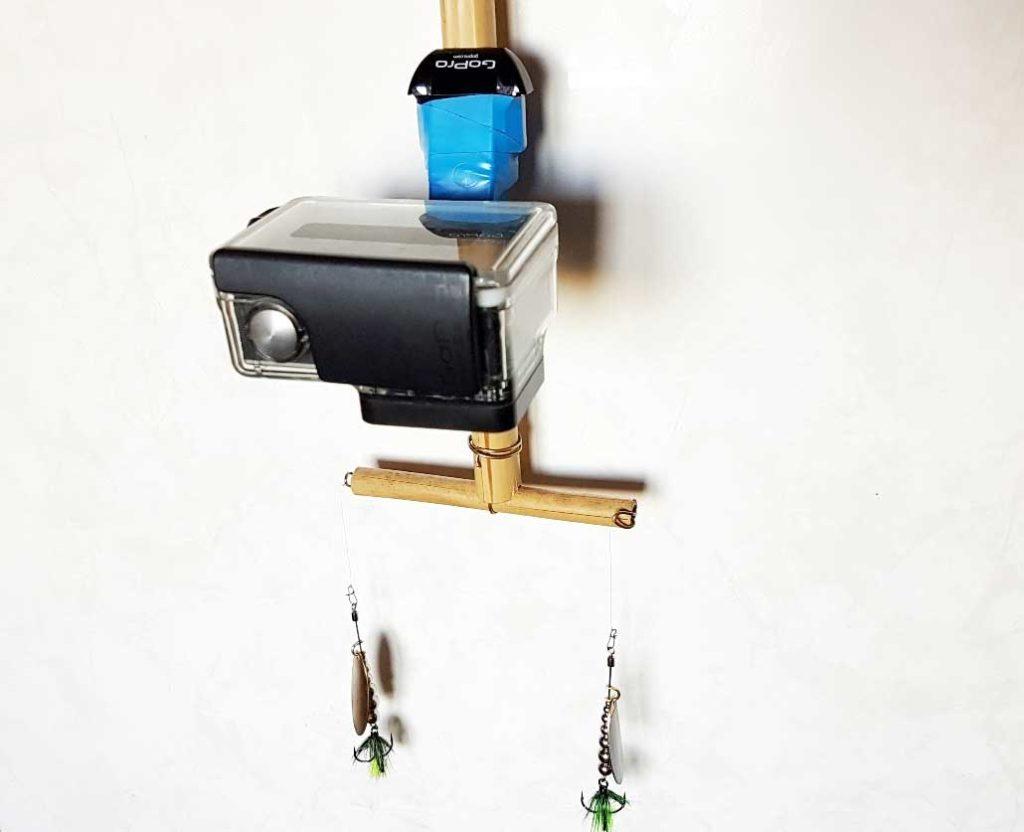 Конструкция для синхронной проводки вертушек и одновременной записи видео