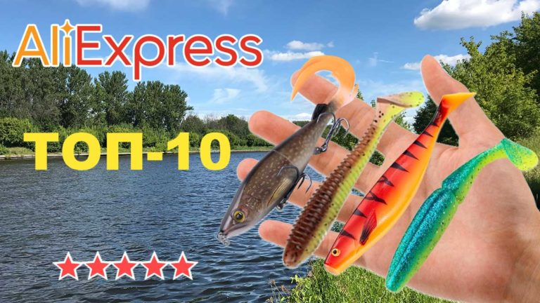 ТОП-10 силиконовых приманок на AliExpress