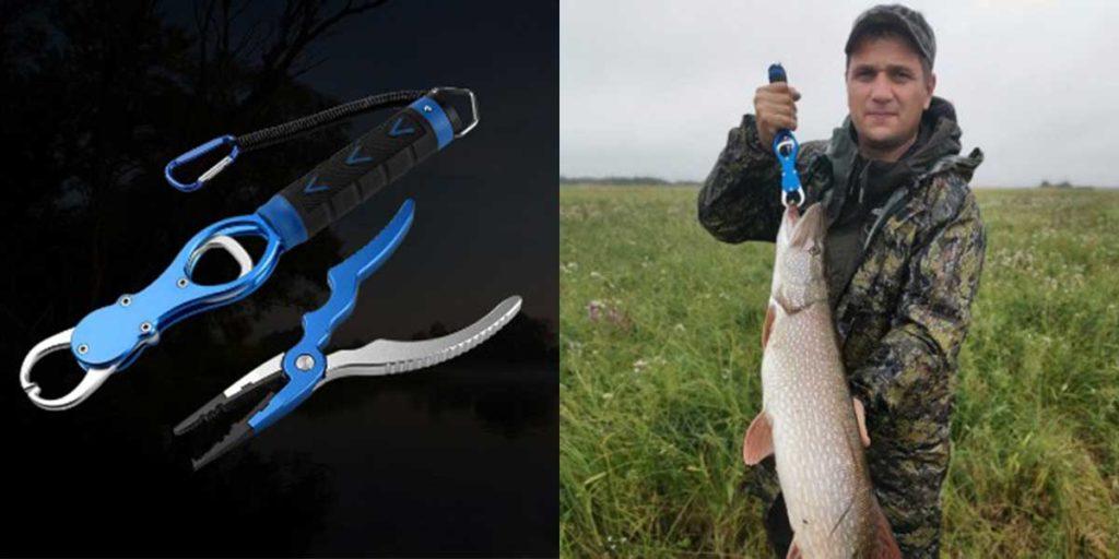 Липгрип и рыболовные плоскогубцы