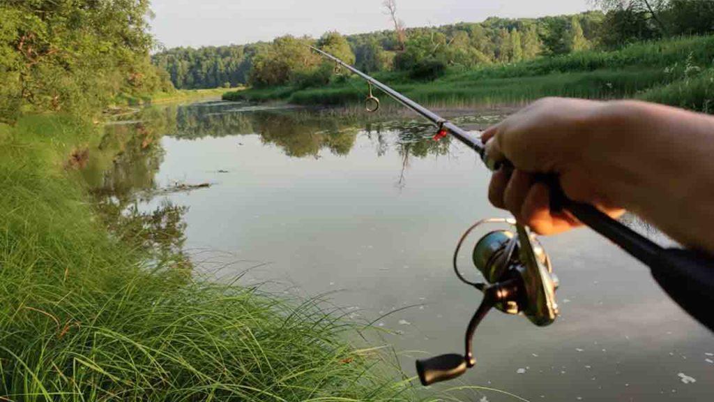 Рыбалка на спиннинг в июле